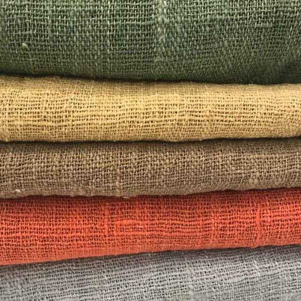 Decke Baumwolle grün
