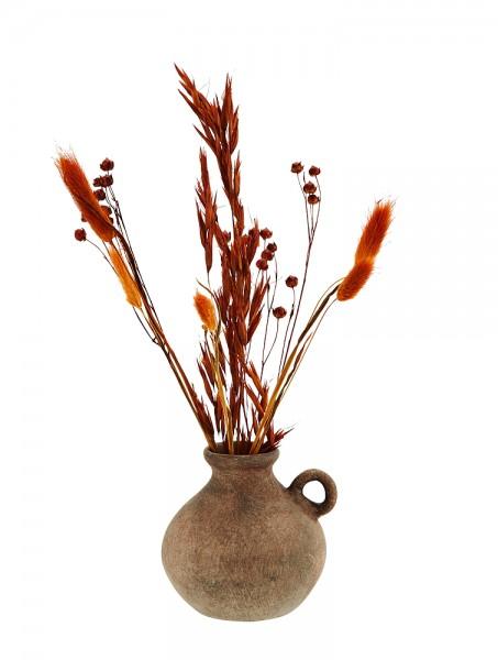 Vase Terrakotta mit Henkel
