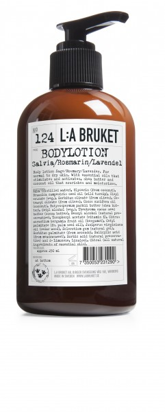 No 124 Bodylotion L:A Bruket