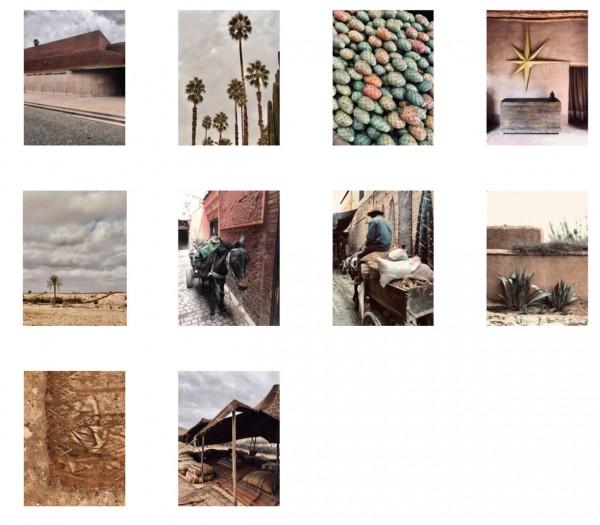 """Postkarten Set """"marrakech"""""""