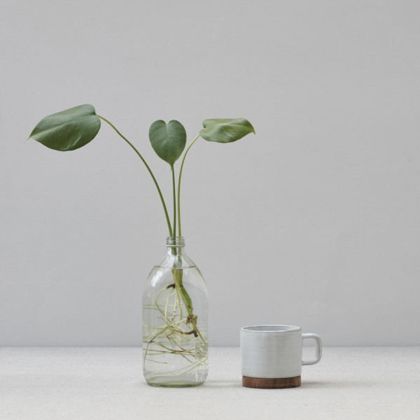 Rami Cup brushed white