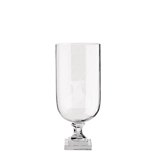 Vase Crystalglas mit Sockel TineK Home