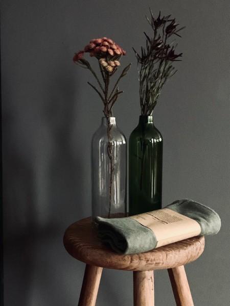 Vase upcycled bottle