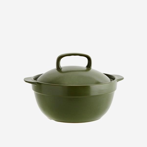 Keramik casserole mit Deckel