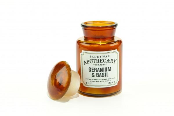 Paddywax Apothecary Geranium/Basil