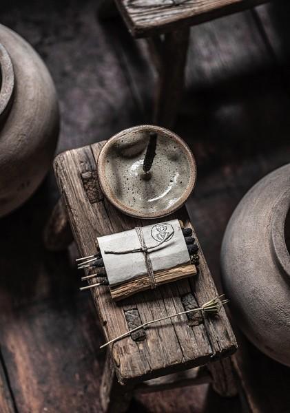 Keramik Schale für Räucherstäbchen