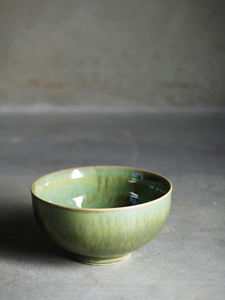 KeramikSchale TineK Home Handmade green moss