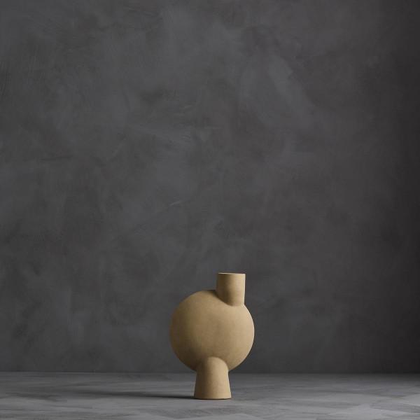 Vase Sphere Bubl medio sand 101COPENHAGEN