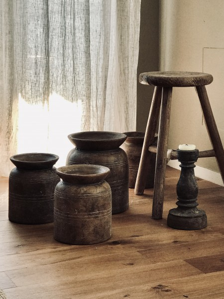 Vase  s brown SERAX