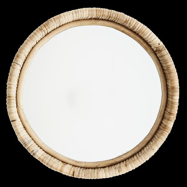 Bamboo Spiegel rund