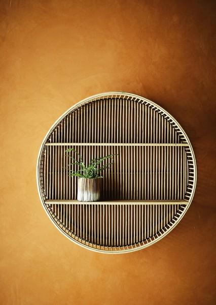 Bamboo Regal rund